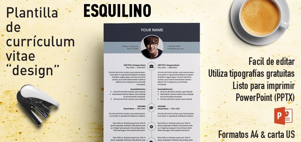 Esquilino Curriculum Vitae PowerPoint
