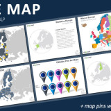 Free Europe Map PowerPoint Template
