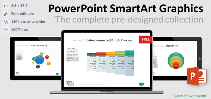 powerpoint smartart graphics – the complete collection, Modern powerpoint