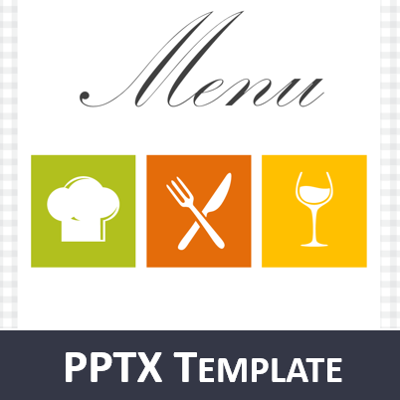 restaurant menu powerpoint template, Powerpoint templates