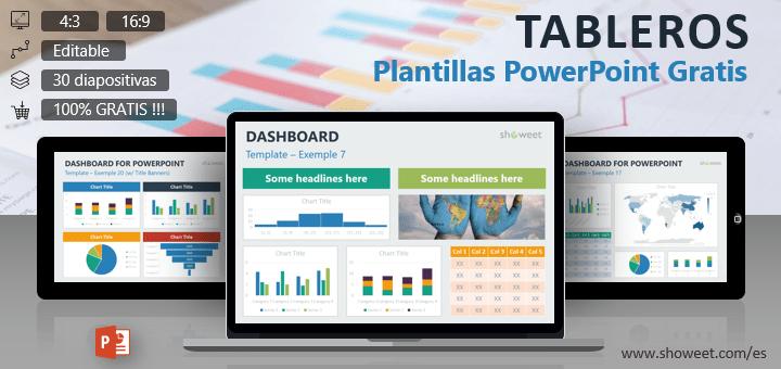 Tableros – Plantillas Gratis para PowerPoint