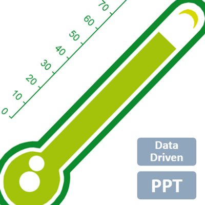 free powerpoint thermometer template .