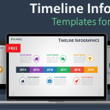 Free timeline infographics templates for PowerPoint