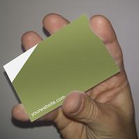 Modèle de carte de visite pour PowerPoint (verso)