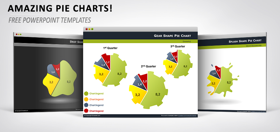 Amazing pie-charts for PowerPoint