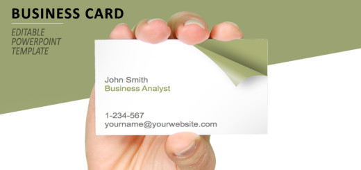 Business cards free templates turn the page business card template for powerpoint wajeb Gallery