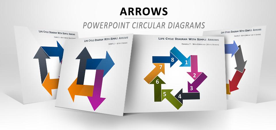 Arrows PowerPoint diagram