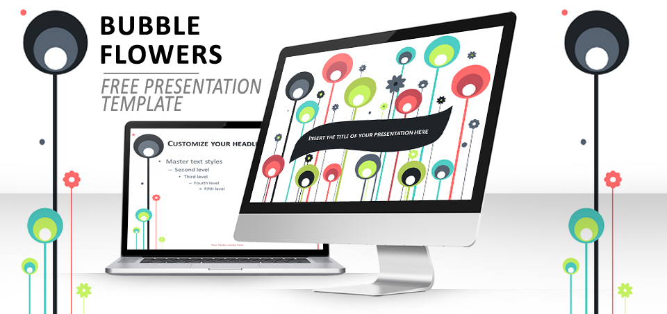 Bubble flowers 2 mod le pour powerpoint et impress - Telecharger open office impress gratuitement ...