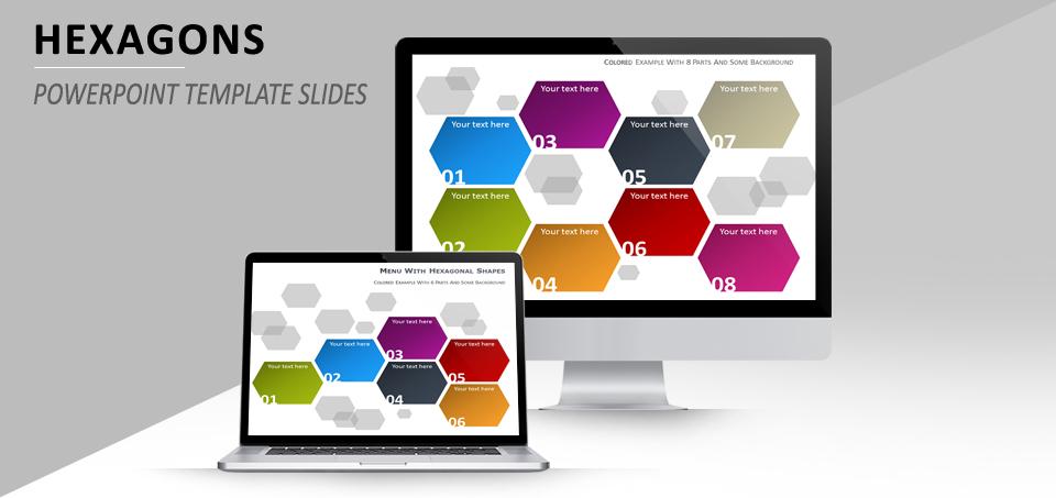 Hexagons PowerPoint template