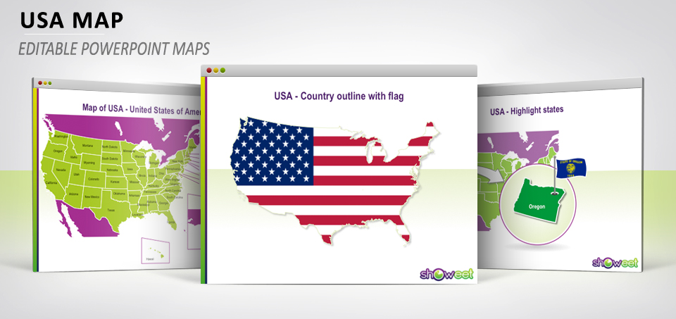 United States Map Ppt.Free Powerpoint Maps Of Usa