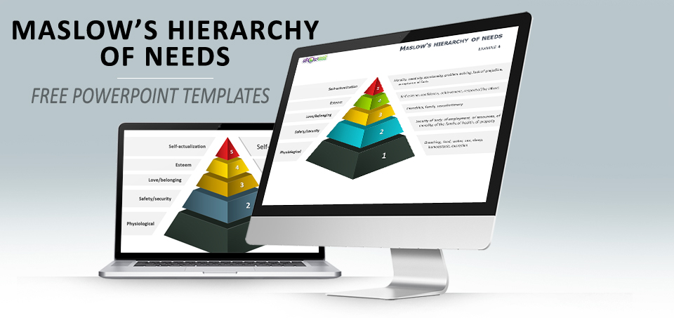 Maslow' Hierarchy of needs PowerPoint template