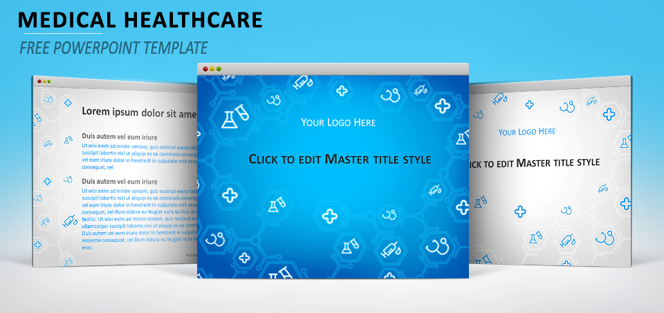 Medical healthcare powerpoint template toneelgroepblik Choice Image