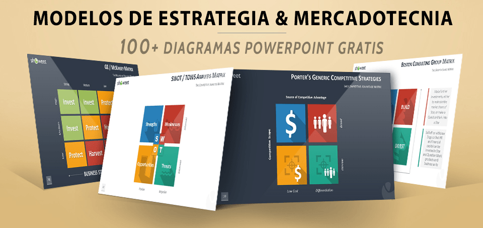 Modelos de Mercadotecnia PowerPoint