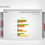 pencils-data-driven-graphs-powerpoint