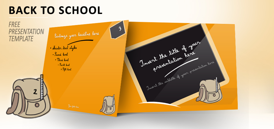 Back To School Free Template For Powerpoint And Impress