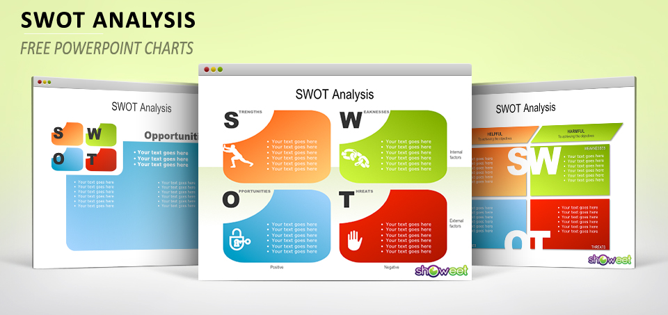Swot analysis free powerpoint charts swot analysis powerpoint 1 toneelgroepblik Images