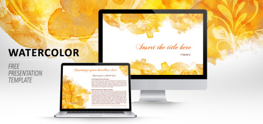 Watercolor Free Templates