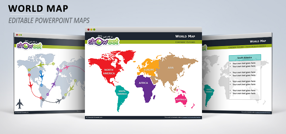 Free world map for powerpoint gumiabroncs Image collections